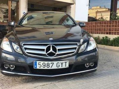 usado Mercedes E250 CDI Coupé BE Aut. (9.75)