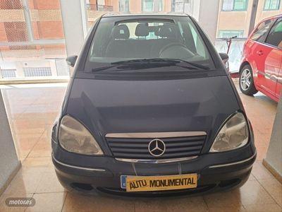 usado Mercedes A170 Clase ACDI ELEGANCE