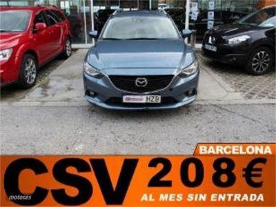 brugt Mazda 6 2.2 150CV STYLE WAGON ** 208€/MES**