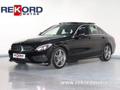gebraucht Mercedes C220 C 220d 9G-TRONIC PLUS AMG 170CVSPORT-TECHO