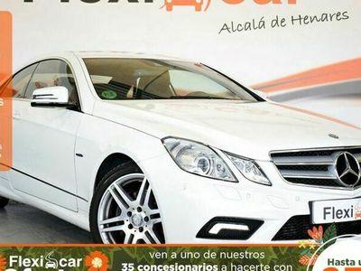 usado Mercedes 200 Clase E CoupéCGI Blue Efficiency Avantg.