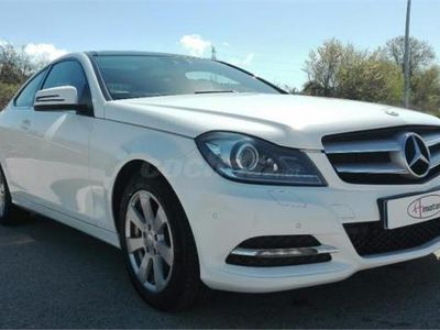 usado Mercedes C220 Clase CCdi Be Blue Efficiency Ed. Coupe 2p. -12