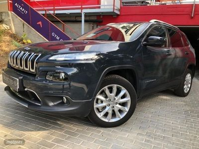 usado Jeep Cherokee 2.2 CRD 147kW Limited Auto 4x4 Act. D.I