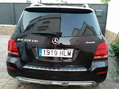 usado Mercedes GLK220 CDI BE 7G-Tronic Plus