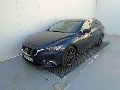 usado Mazda 6 M6 W. 2.2DE Lux.+Prem.Black+Travel+SR(Navi)Aut. 4WD 129kW