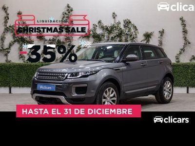 usado Land Rover Range Rover evoque 2.0L TD4 150CV 4x4 SE Auto.
