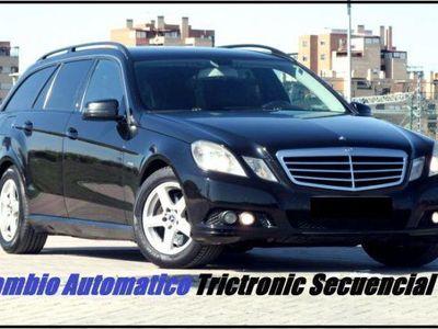 usado Mercedes E200 CDI Avantgarde 7G Plus