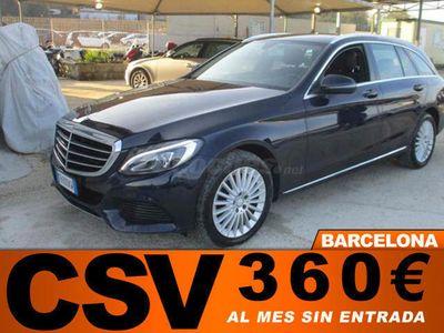 usado Mercedes C220 CDI EXCLUSIVE 170CV *AUTO, CUERO, GPS, 369€/M*