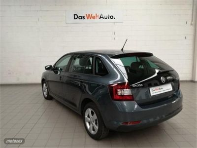 usado Skoda Rapid Spaceback 1.6 TDI 85KW 115cv Ambition
