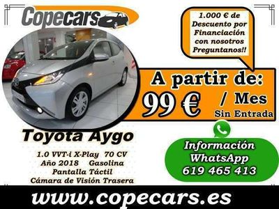 usado Toyota Aygo 1.0 VVT-i x-play Business