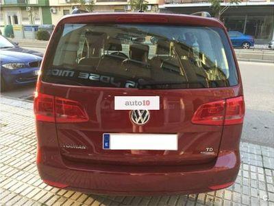 usado VW Touran 1.6TDI Edition 105 OCASION NACIONAL LIBRO IMPECABL