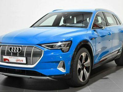 usado Audi E-Tron - edition One 55 quattro 300 kW (408 CV) Eléctrico Azul matriculado el 01/2020