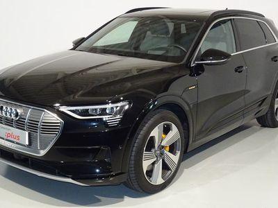 usado Audi E-Tron - edition One 55 quattro 300 kW (408 CV) Eléctrico Negro matriculado el 01/2020