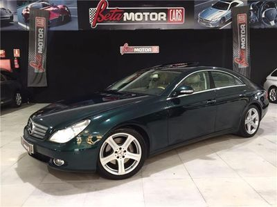 usado Mercedes CLS500 306CV NACIONAL,UNICO DUEÑO, LIBRO EN MERCEDES