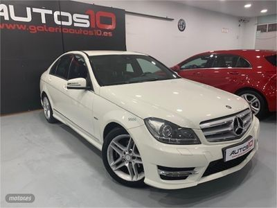 used Mercedes C250 250 CDI Blue Efficiency Avantgarde