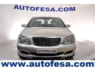 usado Mercedes S350 245cv auto 4p # SUSPENSION NEUMATICOS