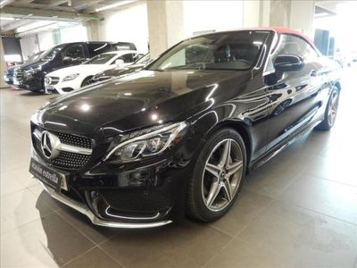 brugt Mercedes C220 Cabrio d 9G-Tronic AMG LINE