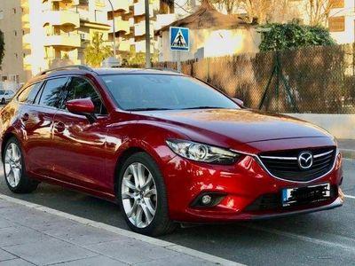 usado Mazda 6 W. 2.2DE Luxury P.Travel Aut. 175 Luxury Pack