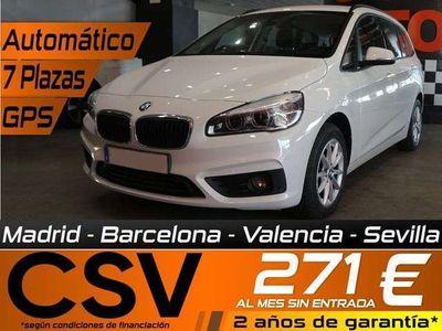 usado BMW 218 Gran Tourer Serie 2 d 7 plazas