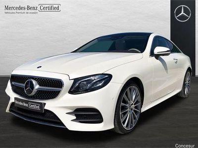 usado Mercedes 400 Clase E Coupé4Matic 9G-Tronic