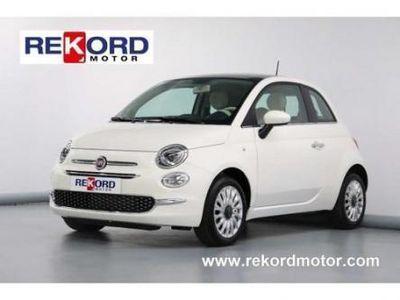 usado Fiat 500 1.2 LOUNGE 69CV KM 0 TECHO PANOR+ NAVI CARPLAY