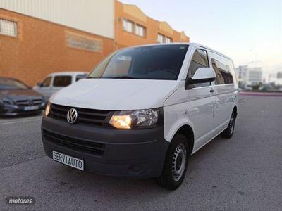 usado VW Transporter Kombi Corto T.Medio 2.0 TDI 102cv 2.8T