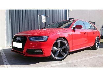 usado Audi A4 Avant 2.0TDI DPF SLINE Plus int. y ext. 177cv