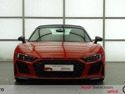 usado Audi R8 Spyder performance 5.2 FSI V10 quattro 456 kW (620 CV) S tronic Gasolina Rojo matriculado el 07/2020
