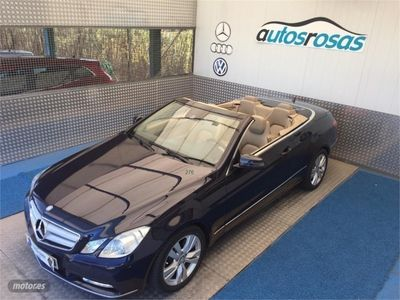 used Mercedes E220 Cabrio CDI BE