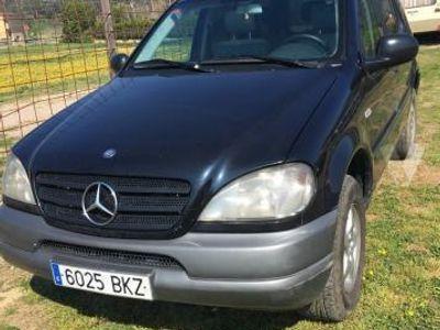 usado Mercedes ML270 Clase MCDI -01