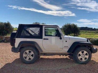 usado Jeep Wrangler 2.8CRD Sport Aut.