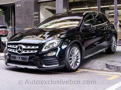 "usado Mercedes GLA250 4M   7G   Techo   GPS   Cámara   19""   -38%"
