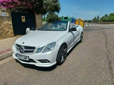usado Mercedes 350 Clase E Coupe cabrioCDI Avantgarde
