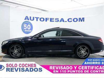 usado Mercedes CL500 CL ClaseGAS GLP AUTO 388CV 2P #TECHO,CUERO,N