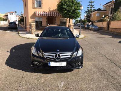 usado Mercedes E350 Clase E CoupeCDI Blue Efficiency Avantg. -12