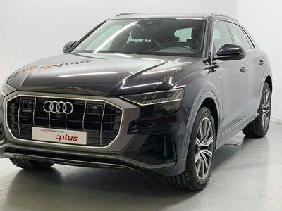 usado Audi Q8 50 TDI quattro 210 kW (286 CV) tiptronic Diésel Negro matriculado el 05/2019