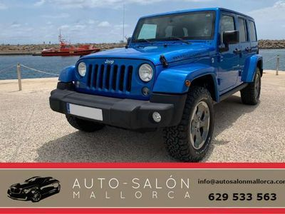 usado Jeep Wrangler Unlimited 2.8CRD Rubicon Aut.