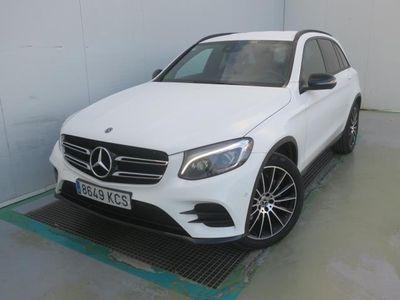 usado Mercedes GLC250 D 4MATIC AUT AMG LINE
