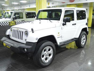 usado Jeep Wrangler 2.8CRD Sahara Aut. - 48.000KM - TECHO LONA Y DURO