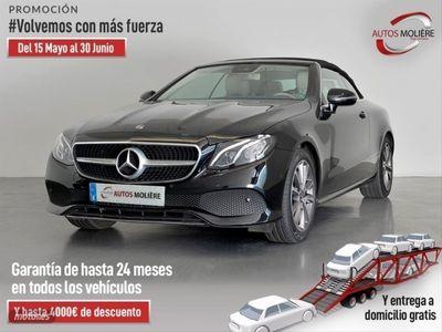 usado Mercedes E300 Clase E Cabrio