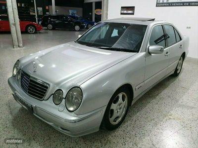 usado Mercedes E320 Clase ECDI AVANTGARDE
