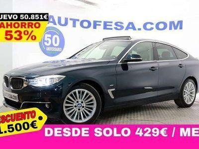 usado BMW 325 Gran Turismo Serie 3 F34 325d Luxury 218cv Auto 5p del 2015