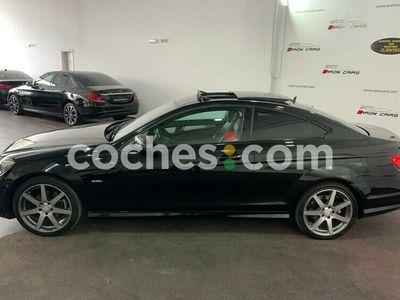 usado Mercedes 170 Clase C C Coupé 220cdi Be Amg Editioncv en Pontevedra