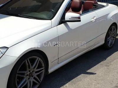 usado Mercedes E350 E350 CDI BlueEFFICIENCY Cabrio 2p