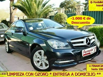 usado Mercedes C180 Clase CBlue Efficiency Coupe