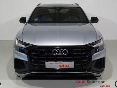 usado Audi Q8 50 TDI quattro 210 kW (286 CV) tiptronic Diésel Gris Plata matriculado el 09/2019