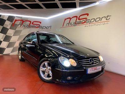 usado Mercedes CLK270 CDI AVANTGARDE AUTOMATICO TECHO 4.300€