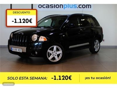 brugt Jeep Compass 2.2 CRD Limited 4x4