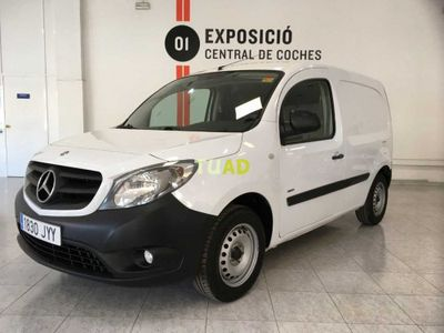usado Mercedes Citan 108 CDI Largo Furgon / Puerta lateral / Bluetooth