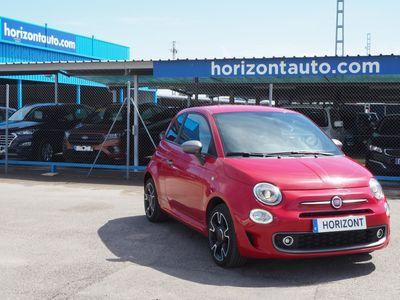 usado Fiat 500S 1.2i 69cv 69cv Rojo metalizado